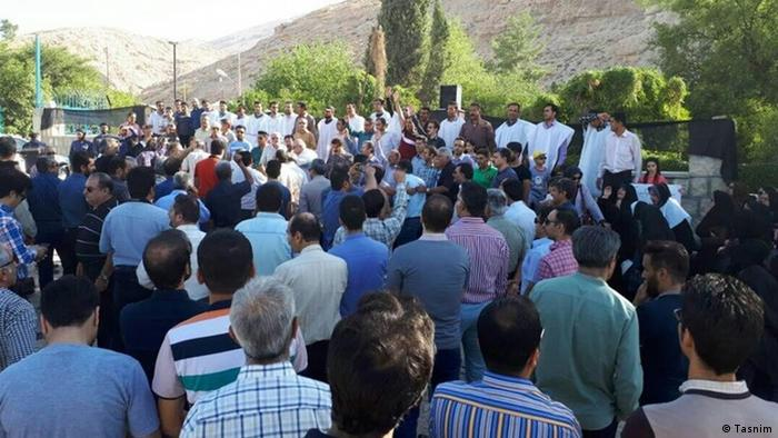 Iran Arbeiter-Protest