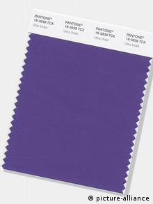 Pantone's Ultra-Violet is the Color of the Year for 2018 (picture-alliance)
