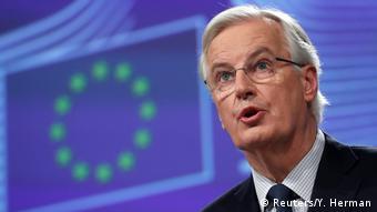 Brüssel EU-Brexit-Unterhändler Michel Barnier (Reuters/Y. Herman)