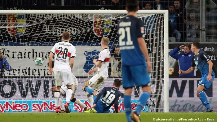 Fussball Bundesliga TSG 1899 Hoffenheim - VfB Stuttgart (picture-alliance/Pressefoto Robin Rudel)