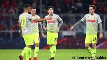 Fußball Bundesliga FC Bayern Muenchen v 1. FC Koeln 16. Spielta