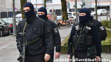 Raids on Islamists in Berlin (picture-alliance/dpa/P. Zinken)