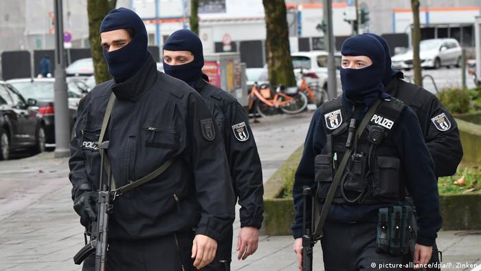 Deutschland Razzia gegen Islamisten in Berlin