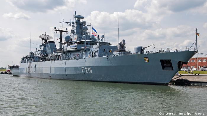Fregatte Mecklenburg-Vorpommern (picture-alliance/dpa/I. Wagner)