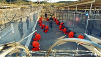 Picture of Guantanamo inmates