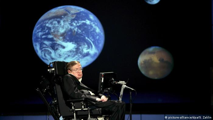 Stephen Hawking (picture-alliance/dpa/S. Zaklin)