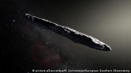 Asteroid aus anderem Sonnensystem (picture-alliance/dpa/M. Kornmesser/European Southern Observatory)