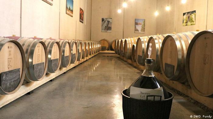 Винный погреб товарищества Vin de Liège