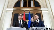 In Austria, Christian Strache and Sebastian Kurz (picture-alliance/dpa/ H.K.Techt)