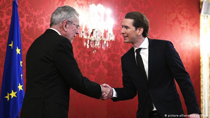 Austrian conservatives reach coalition deal with far right - OVP leader Kurz