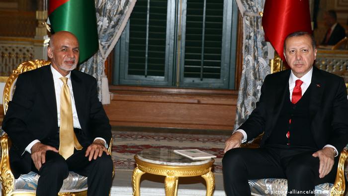 Türkei Treffen von Präsident Recep Tayyip Erdogan mit afghanischem Präsident Ashraf Ghani