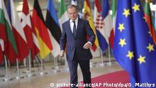 Gipfel der EU-Staats- und Regierungschefs   Donald Tusk