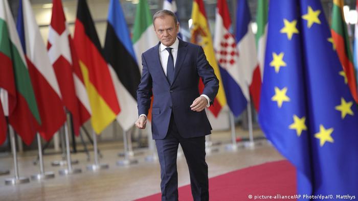 Gipfel der EU-Staats- und Regierungschefs   Donald Tusk (picture-alliance/AP Photo/dpa/O. Matthys)