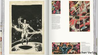 Page from the book The Marvel Age of Comics 1961–1978 (Taschen Publishing House)