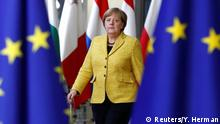 German Chancellor Angela Merkel arrives to attend the EU summit in Brussels, Belgium, December 14, 2017. REUTERS/Yves Herman