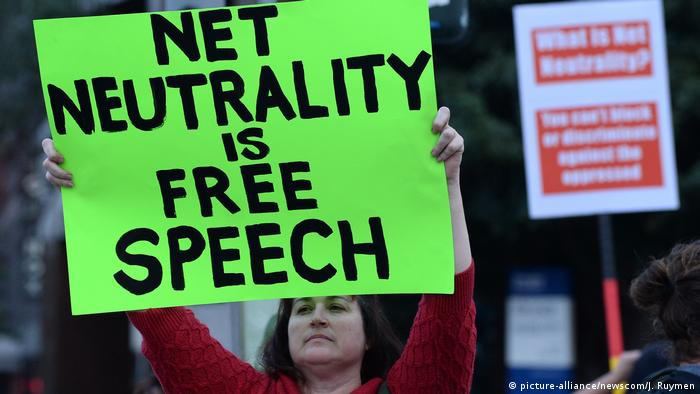 Protesters have rallied for months ahead of the FCC decision to repeal net neutrality, saying it undermines basic rights to internet access