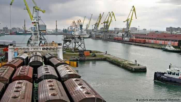 Georgien Hafen von Poti