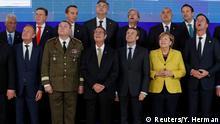 Gipfel der EU-Staats- und Regierungschefs- Zeremonie zu PESCO