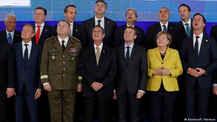 Під час саміту країн ЄС, на якому оголосили про запуск Pesco