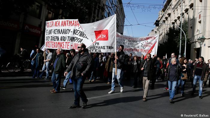 Athen Griechenland Streik (Reuters/C.Baltas)