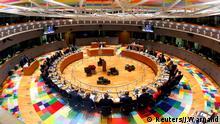EU Gipfel Brüssel Runder Tisch