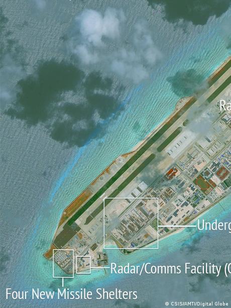 Fiery Cross Reef Spratly Islands
