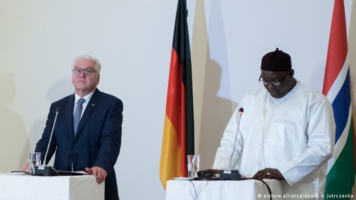 Afrika Bundespräsident Steinmeier in Gambia