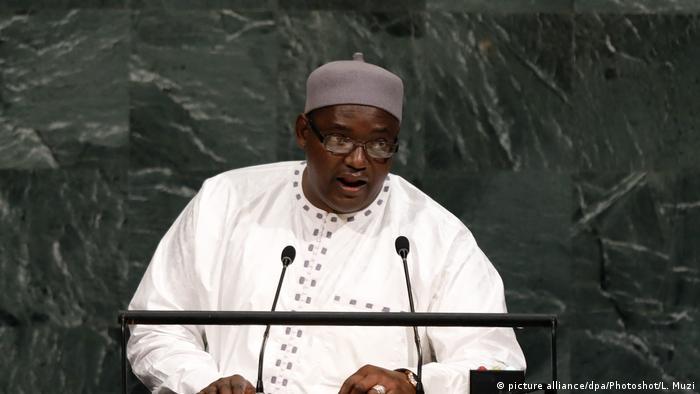 Em setembro de 2017, na ONU, Barrow comprometeu-se a abolir a pena de morte no país
