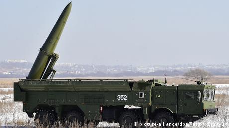 Russland Iskander-M Marschflugkörper (picture-alliance/dpa/Tass/Y. Smityuk)