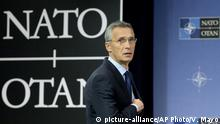 Belgien NATO Stoltenberg (picture-alliance/AP Photo/V. Mayo)