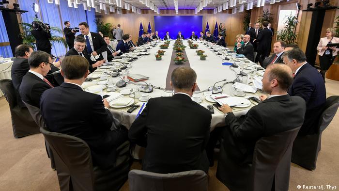 Belgien EU Gipfel in Brüssel (Reuters/J. Thys)