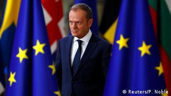 Belgien EU Gipfel in Brüssel   Donald Tusk