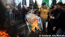 Gazastreifen Proteste nach Freitagsgebet