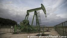 An oil rig is pictured Wednesday, Sept. 6, 2017 in Andrezel, south east of Paris. France's government has unveiled a law to ban all production and exploration of oil and natural gas by 2040 on the country's mainland and overseas territories. The move is largely symbolic, however, as France's oil and gas production represents just 1 percent of national consumption _ the rest is imported. (AP Photo/Thibault Camus) |