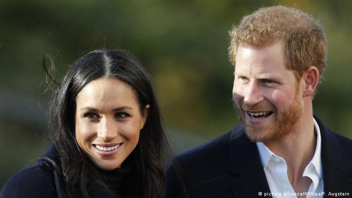Prince Harry und Meghan Markle (picture alliance/AP/dpa/F. Augstein)
