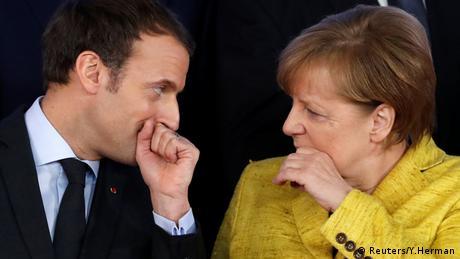 Меркель і Макрон планують до березня запропонувати реформу Єврозони