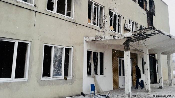 Донецька фільтрувальна станція часто потрапляє під обстріли (архівне фото)