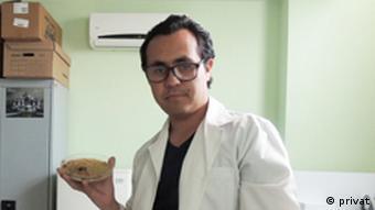 Joel del la Barrera, founder of Biohackers Mexico