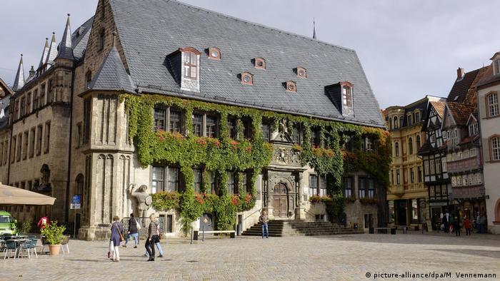 Deutschland Rathaus der Stadt Quedlinburg (picture-alliance/dpa/M. Vennemann)