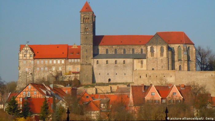 Stiftskirche und Schloss in Quedlinburg