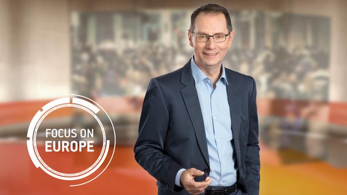 DW Fokus Europa englisch Moderator Peter Craven (Detailseite)