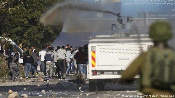 Westjordanland Ausschreitungen in Nablus