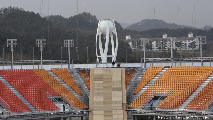 Стадион в Пхёнчхане