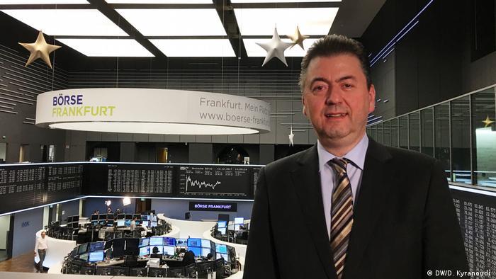 Συνέντευξη στην DW έδωσε ο γερμανός αναλυτής Ρόμπερτ Χάλβερ (Baader Bank)
