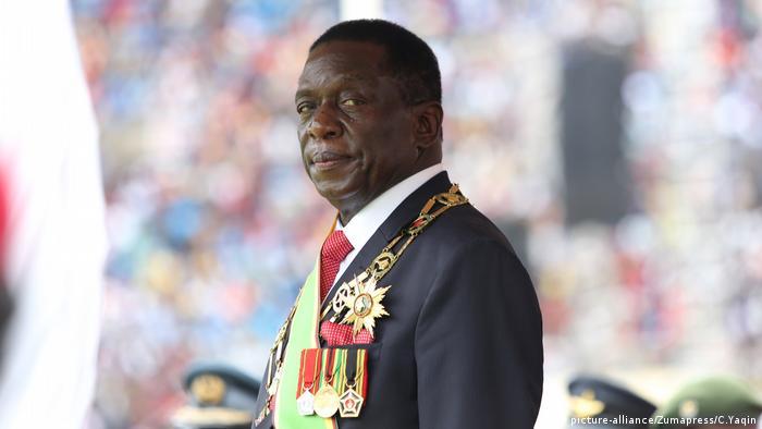 Emmerson Mnangagwa Simbabwe