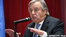 Antonio Guterres UN Generalsekretär in Tokio (Getty Images/AFP/K. Nogi)