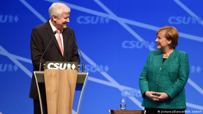 Deutschland CSU Parteitag in Nürnberg (picture-alliance/AA/A. Gebert)