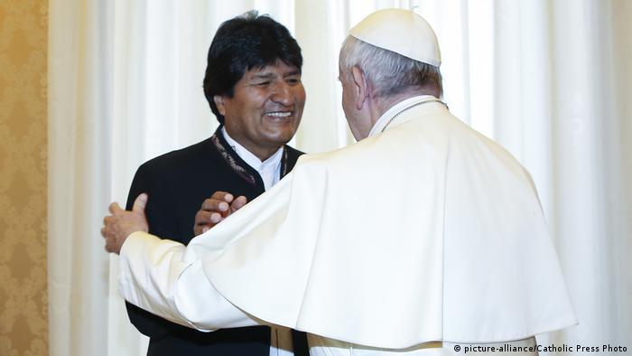 Evo Morales y el Papa: ¿lobby en el Vaticano?