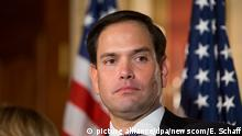 USA Senator Marco Rubio (picture alliance/dpa/newscom/E. Schaff)