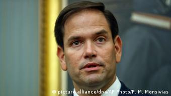 USA Senator Marco Rubio (picture alliance/dpa/AP Photo/P. M. Monsivias)